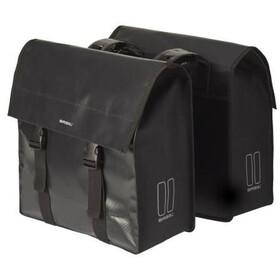 Basil Urban Load Luggage Carrier Double Bag 48-53l, black